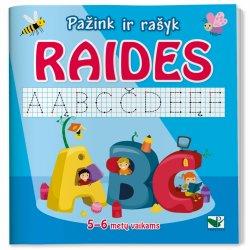 Pažink raides ir mokykis rašyti!
