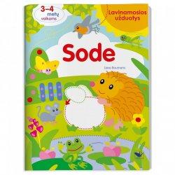 """Lavinamųjų užduočių knyga """"Sode"""""""