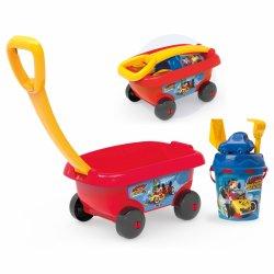 """Vežimėlis su smėlio žaislais """"Peliukas Mikis"""""""