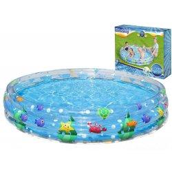 """Pripučiamas baseinas """"Jūros pasaulis"""" 183x33cm"""