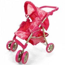 """Rožinis lėlių vežimėlis - """"Care"""""""