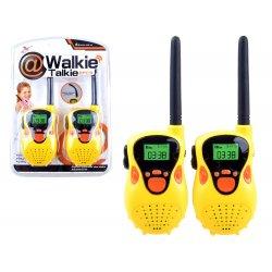 """Geltonos trumpųjų bangų racijos """"Walkie talkie"""" (20 m)"""