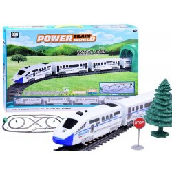 Įspūdingas RC elektrinis traukinys 900 cm