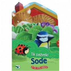 """Edukacinė knygutė vaikams """"Sode"""" 1-2m"""