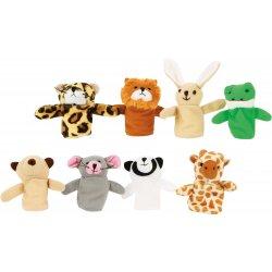 Ant pirštų maunami žaisliukai - gyvūnėliai