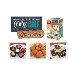 """Mažojo virtuvės šefo rinkinys """"Šokoladas"""""""
