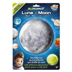 """Tamsoje švytintis 3D lipdukas """"Mėnulis"""""""