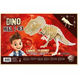 """Milžiniška 3D medinė dėlionė """"T-Rex"""""""