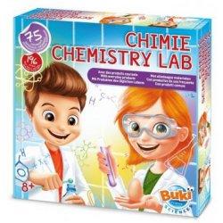 """Jaunojo mokslininko rinkinys """"Chemijos laboratorija"""" su 75 eksperimentais"""