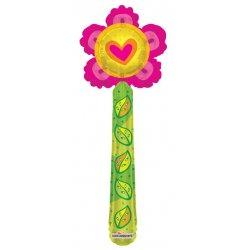 Folinis balionas - Gėlytė / 35 cm