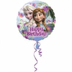 "Folinis balionas - ""Ledo šalis"" Happy Birthday / 45 cm"