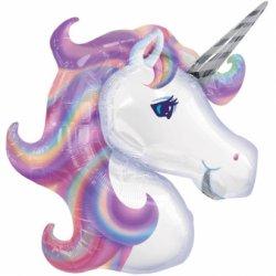 """Didelis folinis balionas - """"Unicorn"""" / 53 cm"""