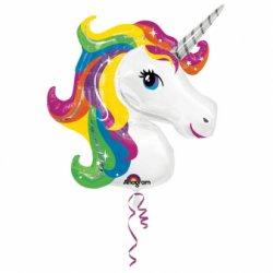 """Spalvingas balionas - """"Unicorn"""" / 53 cm"""