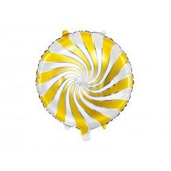 """Folinis balionas """"Auksinis Saldainiukas"""" 35cm"""