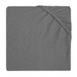 "Paklodė su guma ""Storm grey"" 60x120cm"