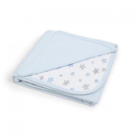 Pledas CebaBaby žvaigždės, mėlynas 90x100
