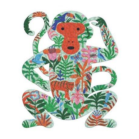 """Spalvinga dėlionė """"Beždžionėlė"""" 350 dalių"""