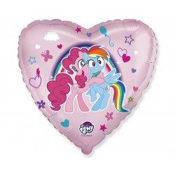"Rožinis folinis balionas ""My little Pony"" / 45 cm"