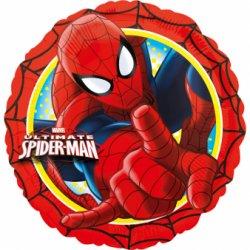 """Raudonų atspalvių folinis balionas - """"Žmogus voras"""" / 45 cm"""