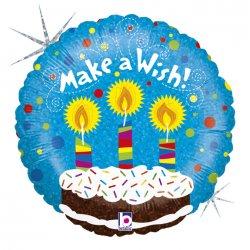"Folinis balionas - ""Make a wish"" / 45 cm"