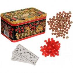 Rusiško loto žaidimas metalinėje dėžutėje