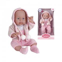 Miela lėlytė - kūdikėlis su rausvais Eco-friendly rūbeliais