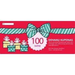 100 eurų Dovanų kuponas apsipirkimui