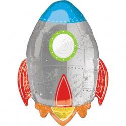 """Spalvingas folinis balionas - """"Raketa"""""""