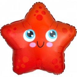 """Folinis balionas - """"Jūrų žvaigždė"""" / 43x40 cm"""