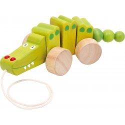 """Traukiamas žaisliukas """"Krokodilas"""""""