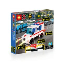 """STAX konstruktorius """"Greitosios pagalbos automobilis"""""""