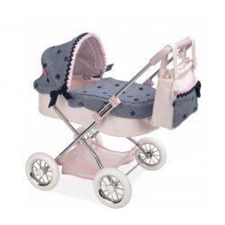 Taškuotas elegantiškas mini vežimėlis