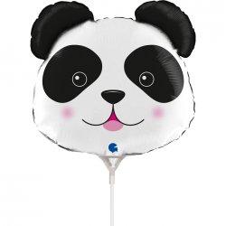 """Balionas ant pagaliuko - """"Panda"""" / 35 cm"""