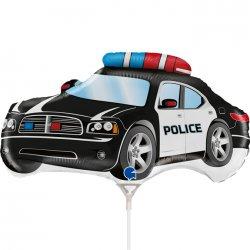 "Folinis balionas - ""Policijos automobilis"" / 35 cm"