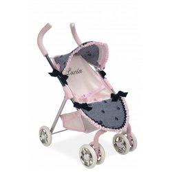 """Lėlės vežimėlis su taškeliais """"Liucija"""""""