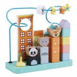Edukacinis medinis žaislas ''Miesto džiunglės''