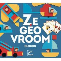 """Kūrybinis konstruktoriaus rinkinys """"Ze Geo Vroom"""""""