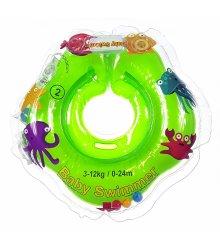 Žalias plaukimo ratas (ant kaklo) 3-12 kg