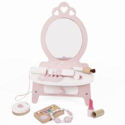 """Medinis kosmetikos staliukas su aksesuarais """"Mažoji princesė"""""""