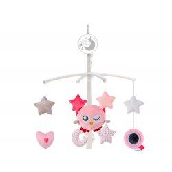 """Muzikinė karuselė """"Rožinė pelėda"""""""