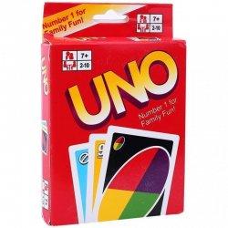 """Stalo žaidimas - """"Uno kortelės"""""""