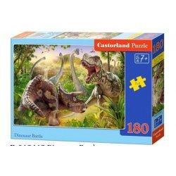 """Dėlionė """"Grėsmingieji dinozaurai"""" 180 dalių"""