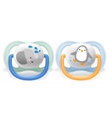 Philips Avent čiulptukas Utra air boy 0-6 mėn, pingvinukas