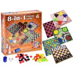 Stalo žaidimų rinkinys 8in1