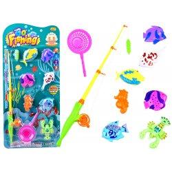 """Vonios žaislų rinkinys """"Pradėkime žvejybą"""""""