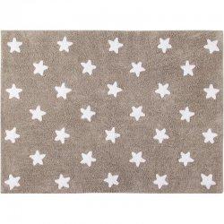 """Rudas vaikiškas kilimas """"Žvaigždutės"""""""
