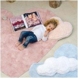 Vaikiškas kilimas širdelės formos