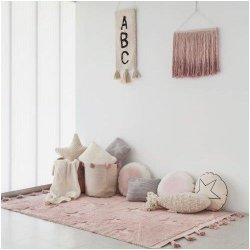 """Rožinis vaikiškas kilimas - """"Hippy Stars"""""""