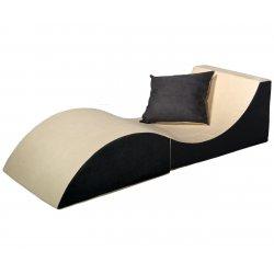 3 in 1 staliukas - sofa su pagalve