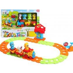 Traukinukas su gyvūnėliais